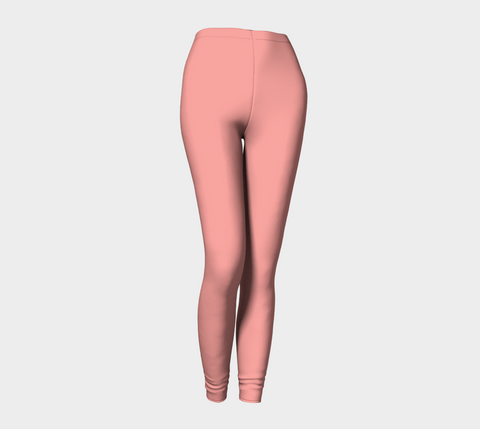 Candlelight Peach Leggings
