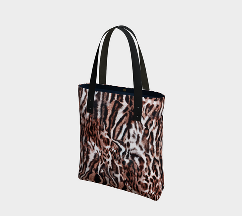 Sumatra Big Cats Chic Tote Bag