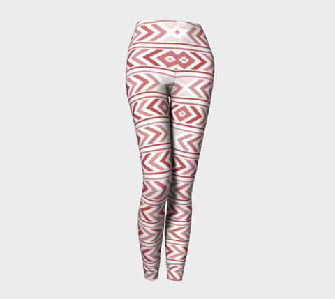 Merlot Chevron Leggings