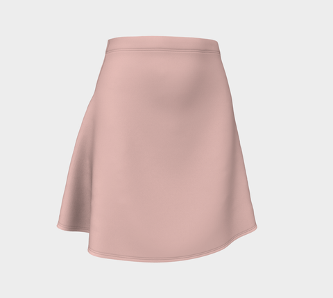 Pretty Pink Roses Flare Skirt