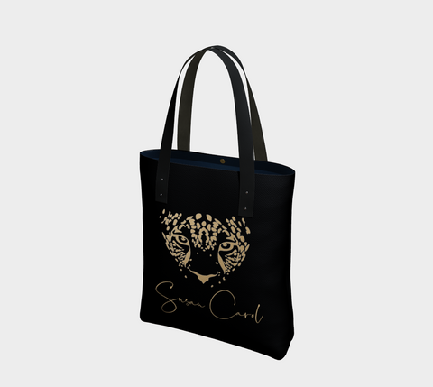 Gold Leopard Chic Tote