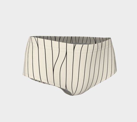 Chamois Stripes Savanna Mini Shorts