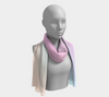Rainbow Pastels #3 Long Scarf