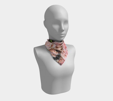 Roses Square Scarf/Shawl