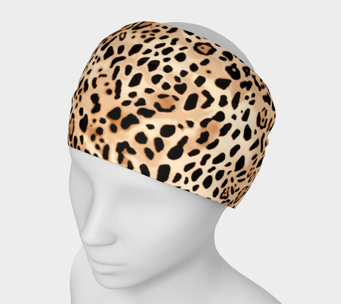 Tan Big Cats Headband