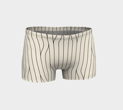 Chamois Stripes Savanna Short Shorts