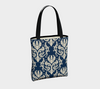 Navy Madrid Chic Tote