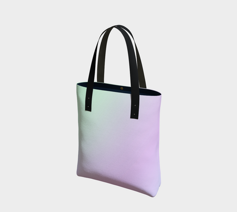 Rainbow Pastels #4 Tote Bag