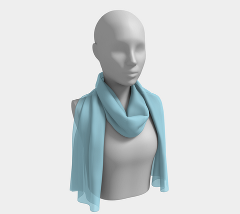 Blue Beach House Long Scarf