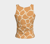 Butterscotch & Cream Zambia Fitted Tank Top (Regular)