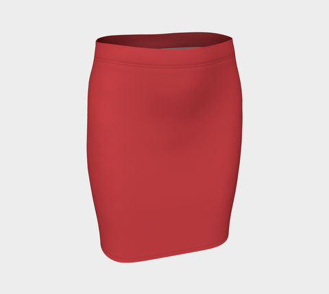 Lipstick Fitted Skirt