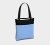 Cornflower/Black Blue Bayou Chic Tote