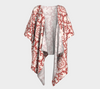 Spanish Rose Madrid Draped Kimono