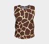 Chocolate & Vanilla Zambia Relaxed Fit Tank Top (Regular)