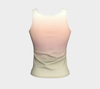 Sage/Pink Painted Desert Fitted Tank Top