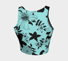 Limpet Shell Jardin Noir Crop Top