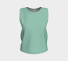 African Turquoise Shianna Relaxed Fit Tank Top (Regular)