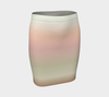 Sage/Pink Painted Desert Fitted Skirt