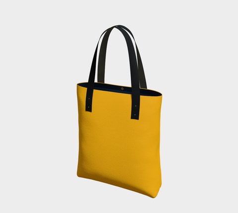Gold Madrid Chic Tote