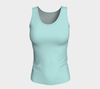 Aqua Festival Fitted Tank Top (Long)