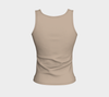 Khaki Fitted Tank Top (Regular)