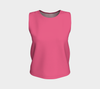 Hot Pink Relaxed Fit Tank Top (Regular)