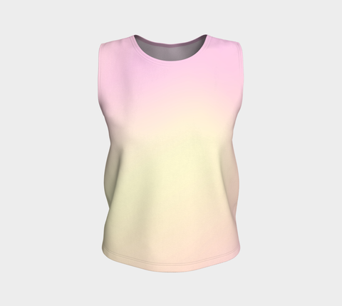Rainbow Pastels #1 Loose Fit Tank Top