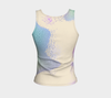 Iridescence #6 Fitted Tank Top