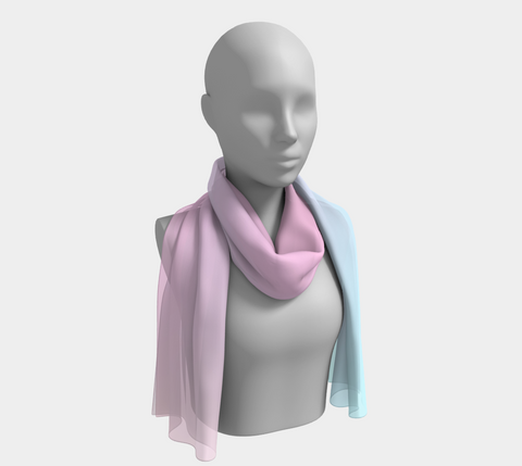 Rainbow Pastels #2 Long Scarf