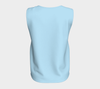 Robin's Egg Blue Bayou Relaxed Fit Tank Top (Long)