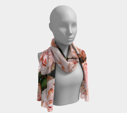 Roses Long Scarf