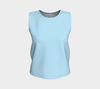Robin's Egg Blue Bayou Relaxed Fit Tank Top (Regular)