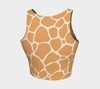 Butterscotch & Cream Zambia Crop Top