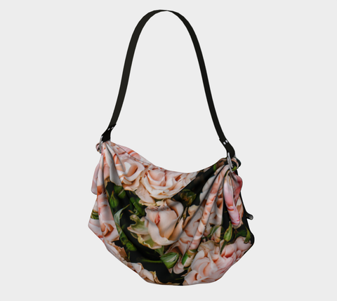 Roses Origami Bag, Shawl and Scarf