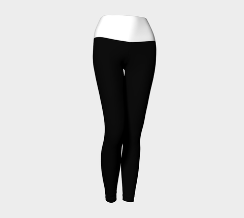 Black & White Yoga Leggings
