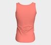 Watermelon Festival Fitted Tank Top (Long)