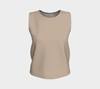Khaki Relaxed Fit Tank Top (Regular)