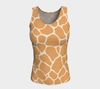 Butterscotch & Cream Zambia Fitted Tank Top (Long)
