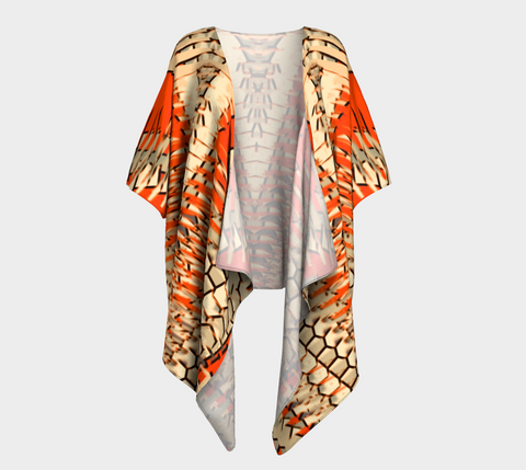 Orange & Doe Shianna Draped Kimono