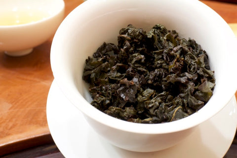 Chinese oolong tea - Bai Ya Qi Lan (by nannuoshan)