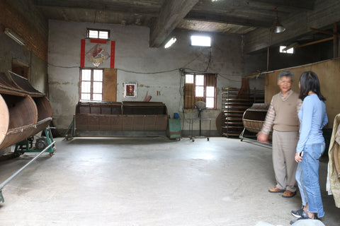The old Tieguanyin tea factory