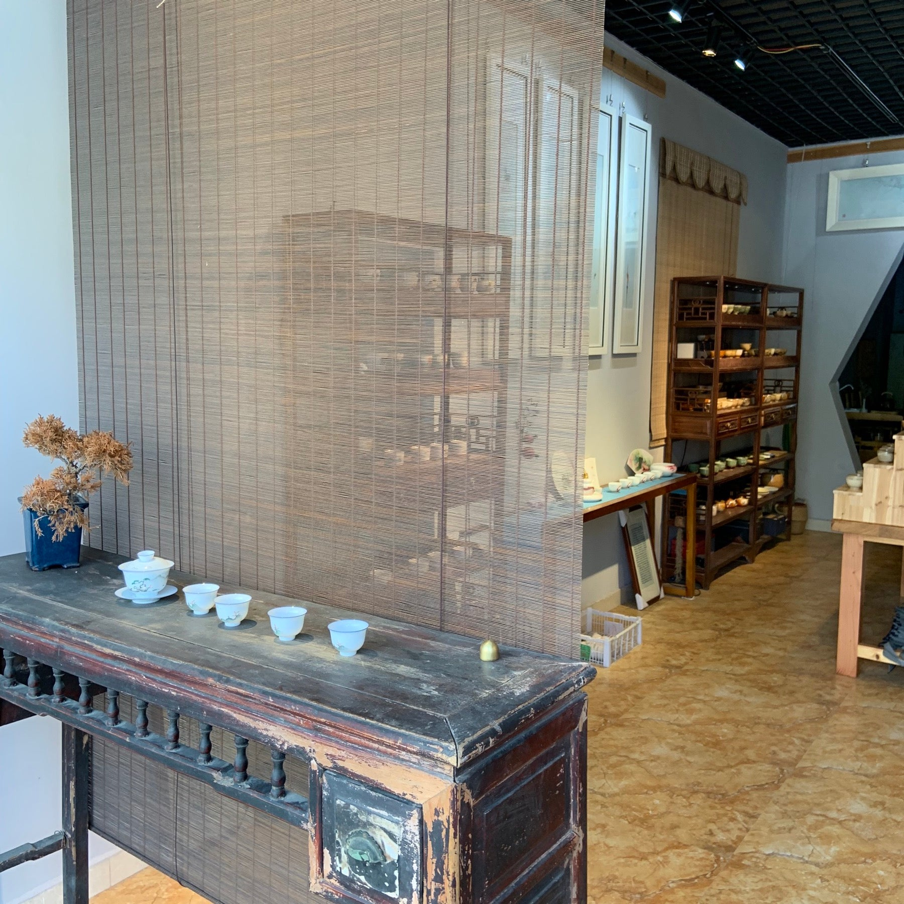 Teaware shop in Jingdezhen