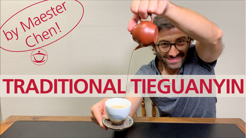 YouTube video – TEA TASTING: Master Chen's Traditional Tieguanyin