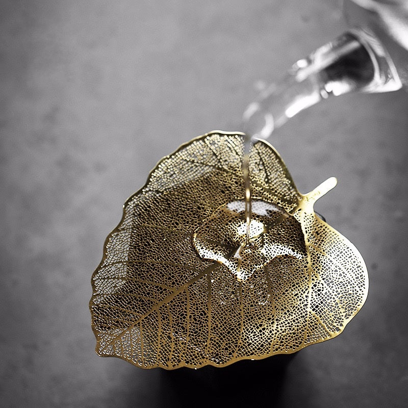 leaf tea filter strainer