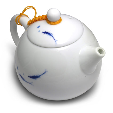 Fish & Lotus Teapot