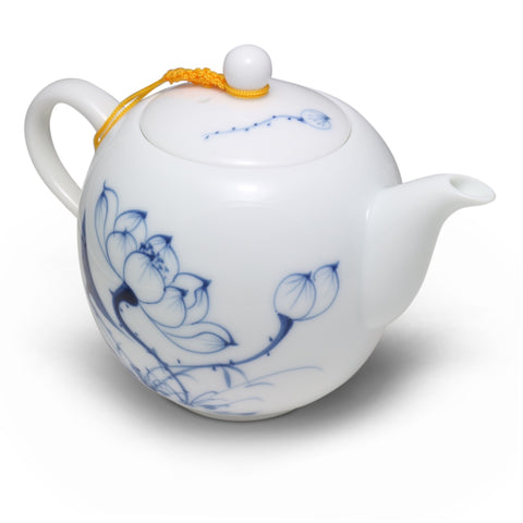 Blue Lotus Teapot