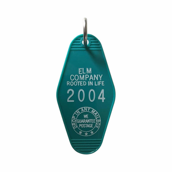 Elm Company Key Tag | Teal