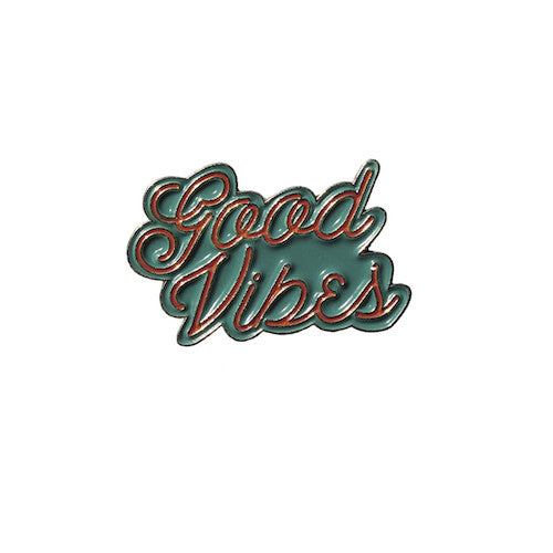Good Vibes Enamel Pin
