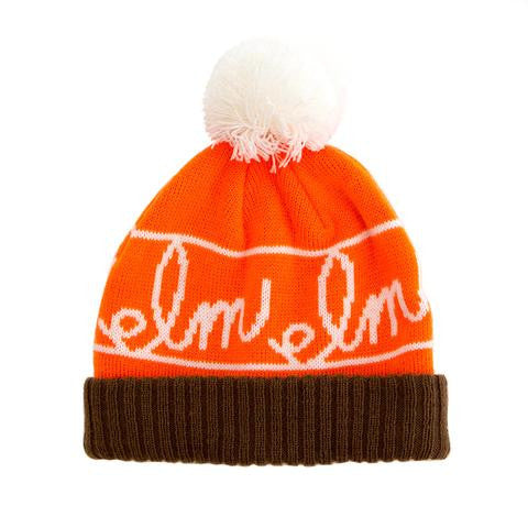 Saplings Kids | Pequeño Beanie | Brown/Orange/White