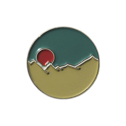 Moon Rise Enamel Pin